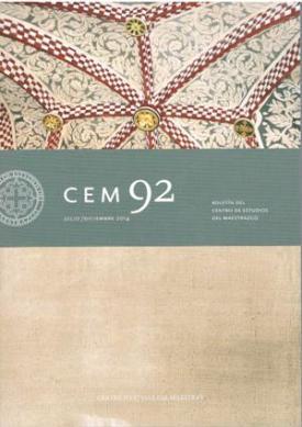 Book Cover: B092 Boletín nº 92 Julio - Diciembre del año 2014