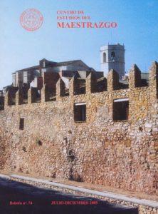 Book Cover: B074 Boletín nº 74 Julio - Diciembre del año 2005