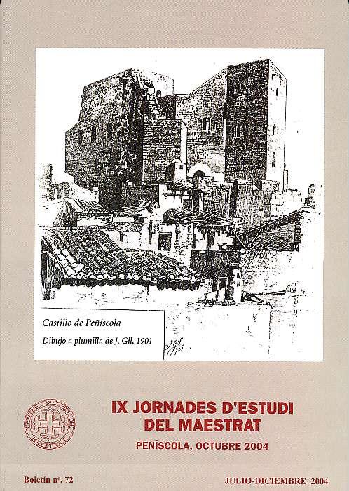 Book Cover: B072 Boletín nº 72 Julio - Diciembre del año 2004
