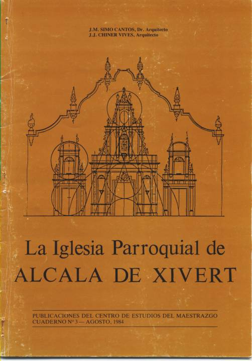 Book Cover: C003 La Iglesia Parroquial de ALCALA DE XIVERT