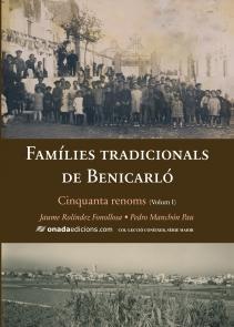 Book Cover: CE003 FAMÍLIES TRADICIONALS DE BENICARLÓ