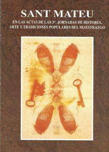Book Cover: J005 3ª Jornadas sobre Arte y Tradiciones en el Maestrazgo