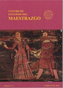 Book Cover: B071 Boletín nº 71 Enero - Junio del año 2004
