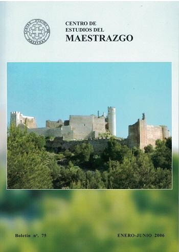 Book Cover: B075 Boletín nº 75 Enero - Junio del año 2006