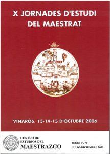 Book Cover: B076 Boletín nº 76  Julio - Diciembre del año 2006