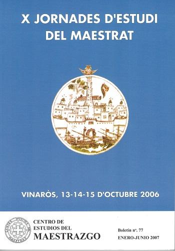 Book Cover: B077 Boletín nº 77 Enero - Junio del año 2007