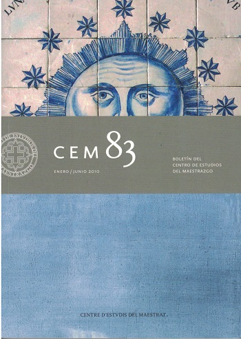 Book Cover: B083 Boletín nº 83  Enero - Junio del año 2010