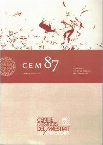 Book Cover: B087 Boletín nº 87 Enero - Junio del año 2012