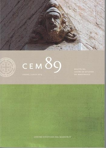 Book Cover: B089 Boletín nº 89 Enero- Junio del año 2013