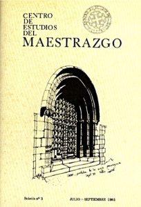 Book Cover: B003 Boletín nº 3 Julio-Septiembre del año 1983