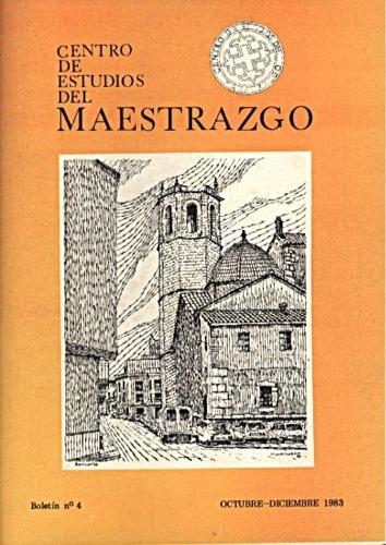 Book Cover: B004 Boletín nº 4 Octubre-Diciembre del año 1983