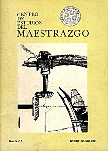 Book Cover: B005 Boletín nº 5 Enero-Marzo  del año 1984