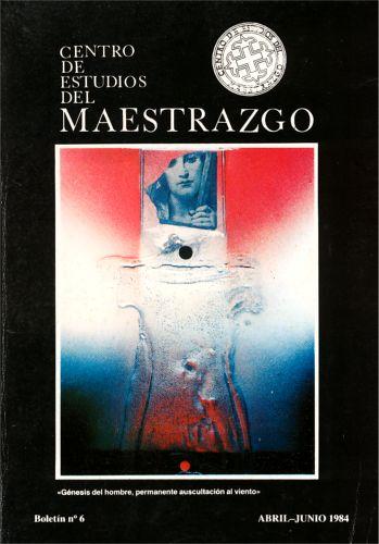 Book Cover: B006 Boletín nº 6 Abril-Junio del año 1984