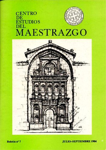 Book Cover: B007 Boletín nº 7 Julio-Septiembre del año 1984