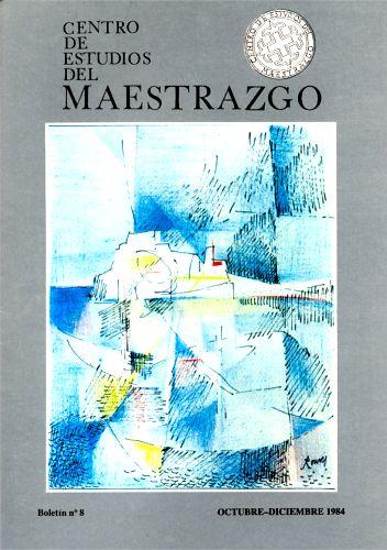 Book Cover: B008 Boletín nº 8 Octubre-Diciembre del año 1984