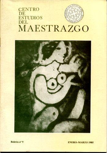 Book Cover: B009 Boletín nº 9 Enero-Marzo del año 1985