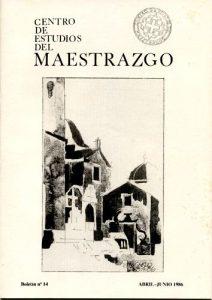 Book Cover: B014 Boletín nº 14 Abril-Junio del año 1986