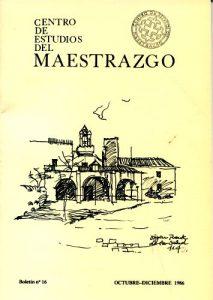 Book Cover: B016 Boletín nº 16 Octubre-Diciembre del año 1986