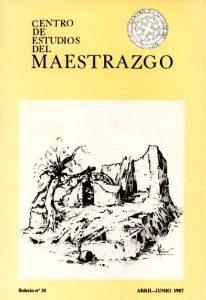 Book Cover: B018 Boletín nº 18 Abril-Junio del año 1987