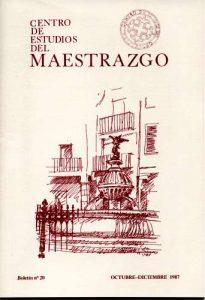 Book Cover: B020 Boletín nº 20 Octubre-Diciembre del año 1987