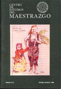 Book Cover: B021 Boletín nº 21 Enero-Marzo del año 1988