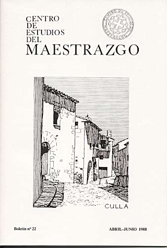 Book Cover: B022 Boletín nº 22 Abril-Junio del año 1988