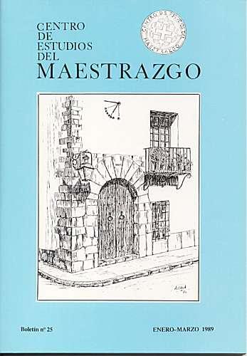 Book Cover: B025 Boletín nº 25 Enero-Marzo  del año 1989