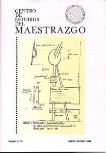 Book Cover: B026 Boletín nº 26 Abril-Junio del año 1989