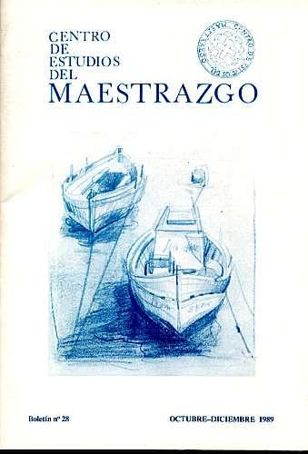 Book Cover: B028 Boletín nº 28 Octubre-Diciembre del año 1989