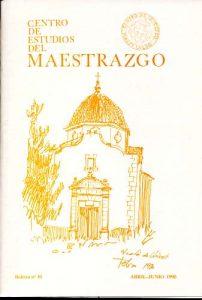 Book Cover: B030 Boletín nº 30 Abril-Junio del año 1990