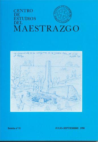 Book Cover: B031 Boletín nº 31 Julio.Septiembre del año 1990