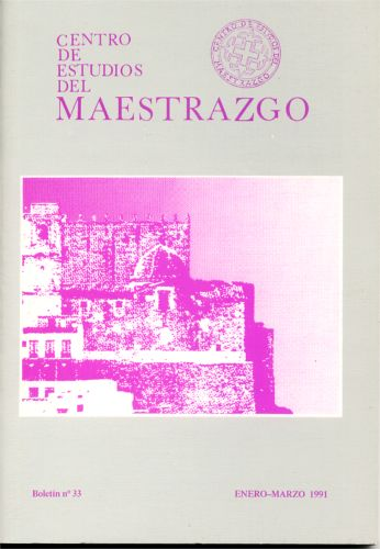 Book Cover: B033 Boletín nº 33 Enero-Marzo del año 1991