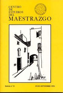Book Cover: B035 Boletín nº 35 Julio-Septiembre del año 1991