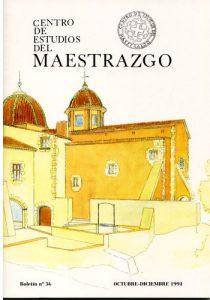 Book Cover: B036 Boletín nº 36 Octubre-Diciembre del año 1991