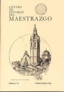 Book Cover: B037 Boletín nº 37 Enero-Marzo  del año 1992