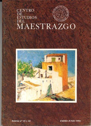 Book Cover: B041 Boletín nº 41 y 42 Enero-Junio  del año 1993