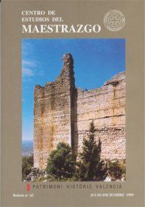 Book Cover: B062 Boletín nº 62 Julio - Diciembre del año 1999