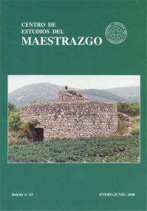 Book Cover: B063 Boletín nº 63 Enero - Junio del año 2000