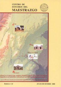 Book Cover: B064 Boletín nº 64 Julio - Diciembre del año 2000