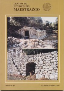 Book Cover: B066 Boletín nº 66 Julio - Diciembre del año 2001