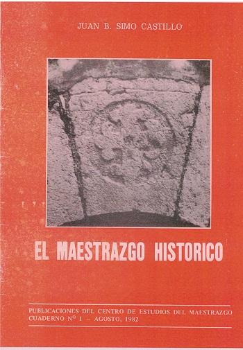 Book Cover: C001 El Maestrazgo Histórico