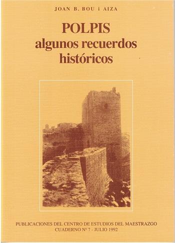 Book Cover: C007 POLPIS Algunos recuerdos históricos