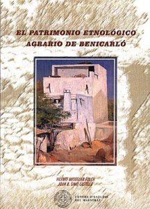 Book Cover: E005 El patrimonio etnológico agrario de Benicarló