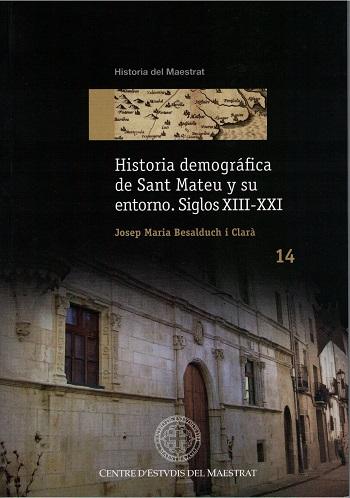 Book Cover: H014 Historia demográfica de Sant Mateu y su entorno Siglos XIII - XXI