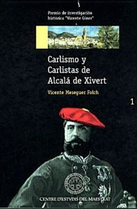 Book Cover: H001 Carlismo y Carlistas de Alcalá de Xivert