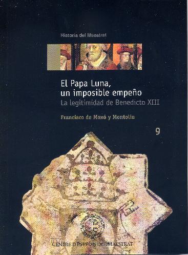 Book Cover: H009 El Papa Luna, un imposible empeño