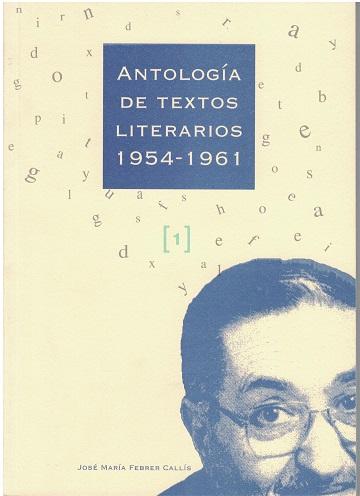 Book Cover: M006 Antología de textos literarios, 1954 - 1961