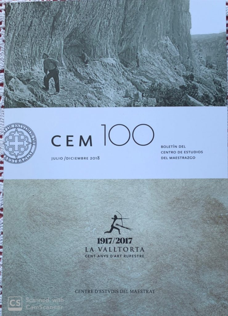 Book Cover: B100 Boletín nº 100 Julio - Diciembre del año 2018