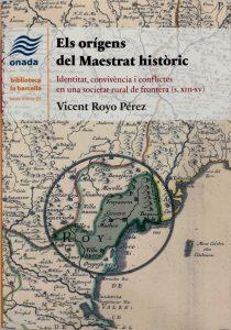 Book Cover: Els orígens del Maestrat històric